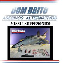 Adesivos P/ Míssil Supersônico X-30 Comandos Em Ação