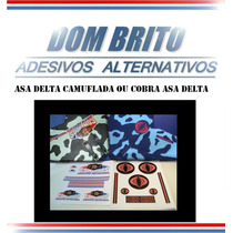 Adesivos Para Asa Delta Camuflada Ou Cobra Asa Delta