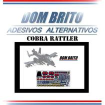 Adesivos Para Cobra Rattler Gi Joe / Comandos Em Ação
