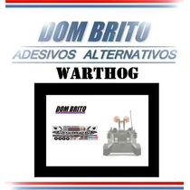 Adesivos P/ Warthog (blindado Anfíbio Torpedeiro Americano)