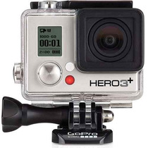 Gopro Camera Hero3+ Silver Edition Full Wi-fi Hd Go Pro+32gb