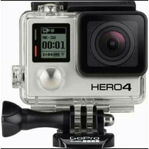 Câmera Gopro Hero4 Silver + Lcd + 32gb Classe 10 Motorsport