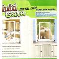 Grade De Proteção P/ Bebes Caes Porta Portão Cercado C Trava