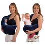 Carregador Bebê Seguro Moises Canguru Sling Color Baby Azul