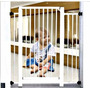 Grade De Proteção E Portão P/ Bebes Cães Porta Portão