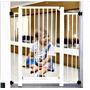 Grade Proteção Porta Portãozinho Cachorro Cães Pet Bebe
