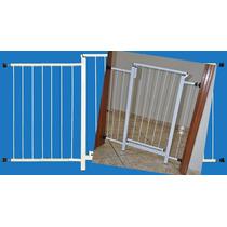 Portão Grade Proteção Porta Criança Pet Cães 149 Cm A 154 Cm