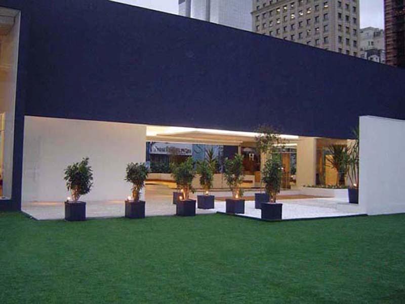 grama sintetica decorativa para jardim de inverno:Grama Sintética Decorativa Playground Piscina Jardim Futebol – R$ 31
