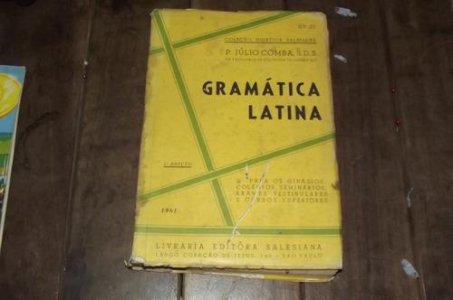 Gramática Latina P. Julio Coimbra 1961