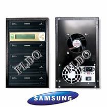 Duplicadora De Cd Dvd Samsung Com 1 Leitor E 4 Gravadores
