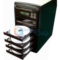 Torre Duplicadora De Dvd E Cd Com 5 Gravadores Samsung
