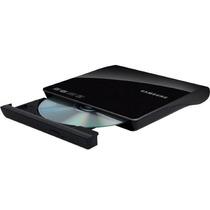 Gravador De Dvd Slim Externo Samsung Se-208db/tsbs Usb + Nf