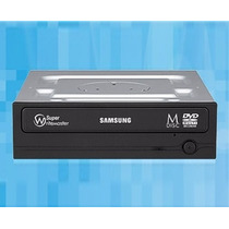 Gravador Cd Dvd Samsung Sata Preto Grava Dual Layer 8,5 Gb