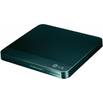 Gravador De Cd Dvd Externo Lg Slim Gp50nb40 Usb 2.0 Preto