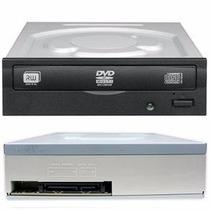 Gravador Dvd E Cd - Preto - Sata + Cabo - Interno - Garantia