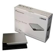 Gravador De Blu-ray Externo Pioneer Usb 3.0 Bdr-xd05s Prata