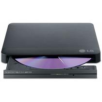 Gravador De Dvd Externo Lg Gp50nb40 Slim Usb 2.0 Preto