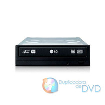 Drive Lg Gravador Dvd E Cd 24x Sata Preto Gh24nsco