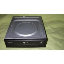 Gravador Leitor Dvd Lg Tipo Ide Mod Gh22np20 Preto Fosco Usa