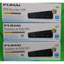 Gravador Dvd Mesa Funai Dvr + Vhs P/ Dvd Pronta Entrega Show