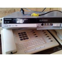 Dvd Recorder Panasonic Dm Es10 Usado Sem Controle Remoto