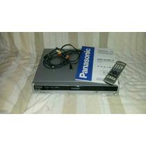Gravador De Dvd, De Mesa Panasonic Dmr Es10 (semi Novo)
