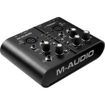 Interface M-audio M-track Plus + Pro Tools Express + Ilok 2