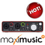 Scarlett 2i2 Focusrite Interface De 2 Entradas Mais Vendida