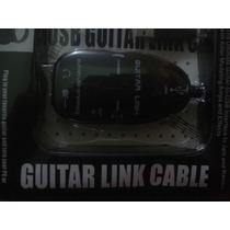 Placa Interface Guitar Link Usb P/windows E Mac