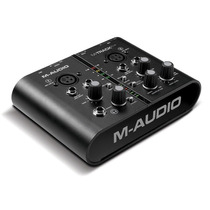 M-audio Lançamento M-track Plus Audio/midi Usb Interface