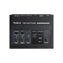 Interface De Audio Usb Roland Ua-33 Preto Com Entrada Xlr