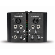 Interface De Audio 2 Canais Usb M-track Plus M-audio