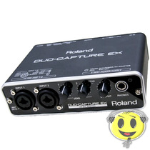 Interface Roland Ua 22 Placa De Som Duo Capture O F E R T A