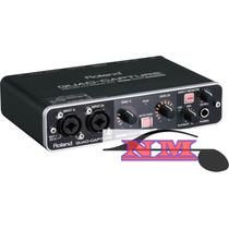 Roland Ua-55 Quad-capture - Interface De Áudio Usb 2.0 + Nfe