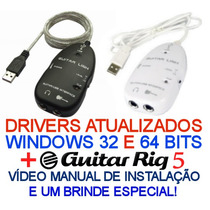 Guitar Link - Interface De Audio Usb + Guitar Rig 5.