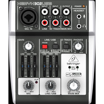 Mesa De Som Interface Behringer Xenyx 302 Usb - Ms0009