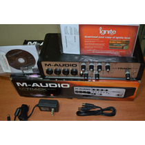 Placa Interface M Audio Quad + Midi Usb+protools E Ignite