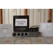 Placa Interface M Audio Fast Track Ultra 8x8 Usb Driver Soft