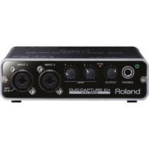 Interface De Áudio Usb Roland Ua-22 Preto