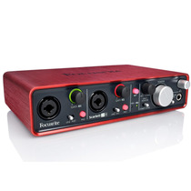 Placa Interface De Gravacao Scarlett 2i4 Focusrite
