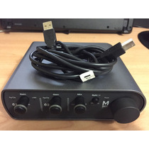 Placa Interface Avid M Audio Mbox 3 Mini Usb