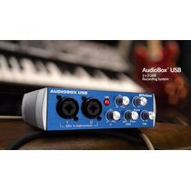 Interface Presonus Audio Box Usb Placa De Gravação