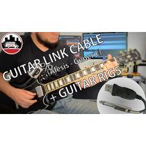 Guitar Link Cable - P10/usb 3metros + Guitar Rig 5 + Brinde!