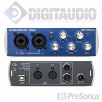 Presonus Audiobox-interface De Audio Usb 2x2 C/ Midi - C/ Nf