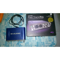 Interface M-audio Fast Track Pro 4x4 + Pro Tools Se C/ Nf