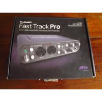 Interface M Audio Fast Track Pro Semi Novo