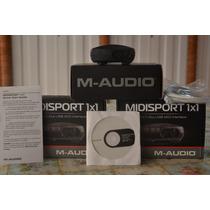 Placa Interface De Audio Midsport 1x1 M Audio Midi Usb 2.0