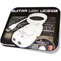 Guitar Link Interface Audio Usb + Guitar Rig Gratis Id1983
