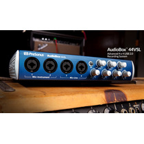 Presonus Audiobox 44vsl Interface Profissional + Brindes