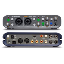 Placa M Audio Fast Track Pro Interface Usb - Frete Grátis